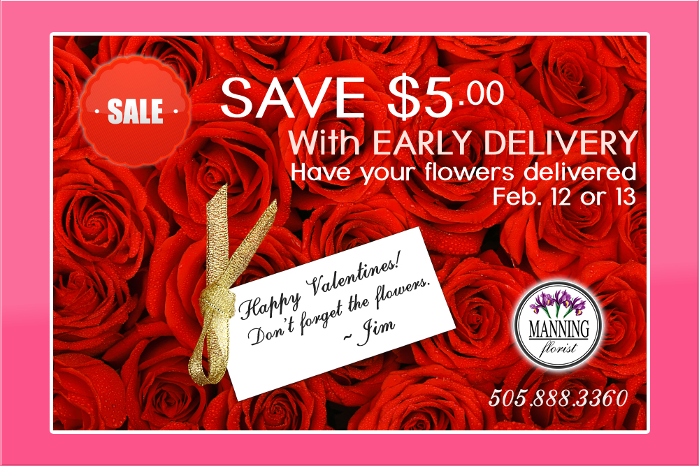 save $5 with early delivery - albuquerque florist | manning luxury, Ideas